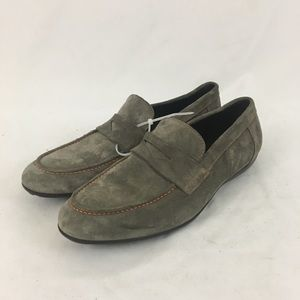 Brunomagli Gray Loafers From Nordstrom NWT